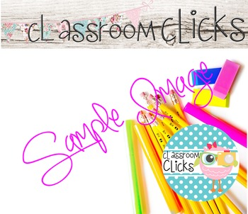Styled Back to School Image_136: Hi Res Images for Blogger