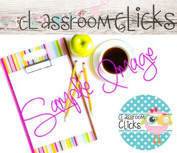 Styled Coffee w/Clipboard Image_161:Hi Res Images for Bloggers & Teacherpreneurs