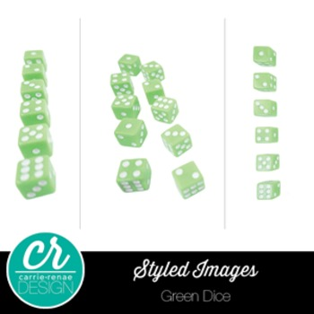 Styled Images - Green Dice