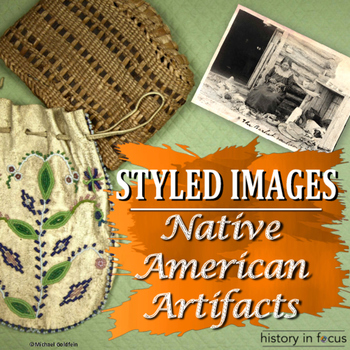 Styled Images Native American Artifacts