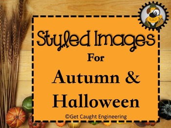 Styled Images for Autumn and Halloween