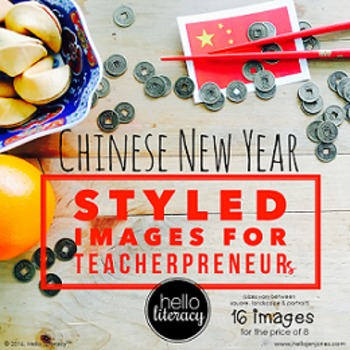 Styled Images for Teacherpreneurs: Chinese New Year Person