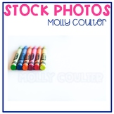 Stock Photo: Crayons -Personal & Commercial Use
