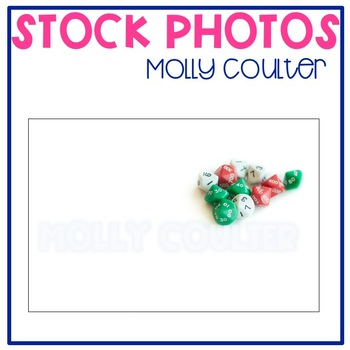 Stock Photo: Place Value Dice- Personal & Commercial Use