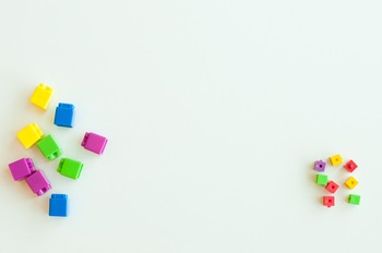 Stock Photo: Unifix Cubes #3-Personal & Commercial Use