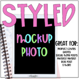Styled Mockup Photo for Teacher Sellers {Notebook & iPad Theme}