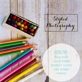 Styled Stock Photo: Arts & Crafts 2 BUNDLE (Comm Use OK)