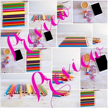 Styled Stock Photo: Arts & Crafts 3 BUNDLE (Comm Use OK)