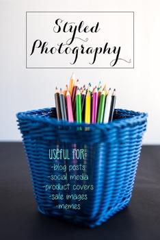 Styled Stock Photo: Arts and Crafts Set 10 (Comm Use OK)