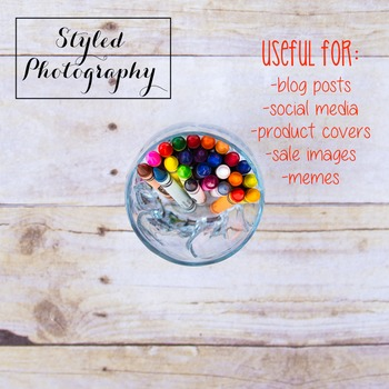Styled Stock Photoraphy: Arts and Crafts Set 12 (Comm Use OK)