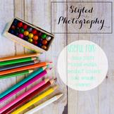 Styled Stock Photo: Arts and Crafts Set 13 (Comm Use OK)