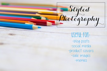 Styled Photography: Arts and Crafts Set 17 (Comm Use OK)