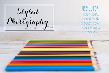 Styled Photography: Arts and Crafts Set 19 (Comm Use OK)