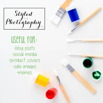 Styled Stock Photo: Arts and Crafts Set 2 (Comm Use OK)
