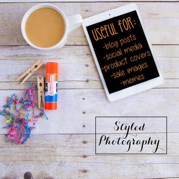 Styled Stock Photo: Arts and Crafts Set 21 (Comm Use OK)