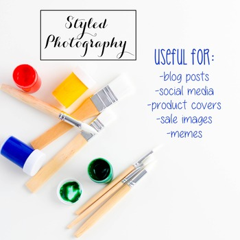 Styled Stock Photo: Arts and Crafts Set 3 (Comm Use OK)