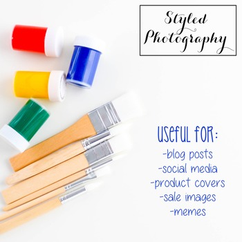 Styled Stock Photo: Arts and Crafts Set 4 (Comm Use OK)