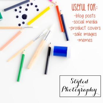 Styled Stock Photo: Arts and Crafts Set 6 (Comm Use OK)