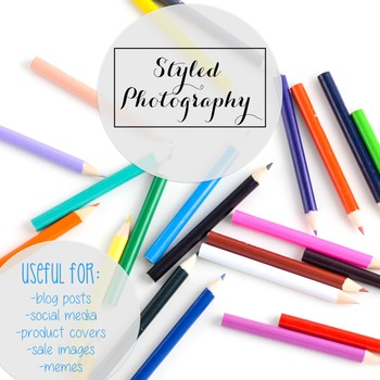 Styled Stock Photo: Arts and Crafts Set 8 (Comm Use OK)