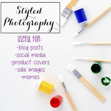 Styled Stock Photo: Arts and Crafts BUNDLE (Comm Use OK)
