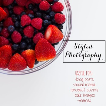 Styled Photography: Berries (Comm Use OK)