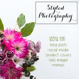 Styled Stock Photo: Flowers BUNDLE (Comm Use OK)