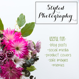 Styled Stock Photo: Flowers BUNDLE (Comm Use OK)