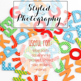Styled Stock Photo: Phonics set 1 (Comm Use OK)