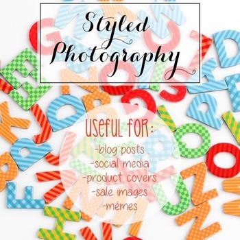 Styled Photography: Phonics set 1 (Comm Use OK)