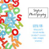 Styled Stock Photos: Phonics BUNDLE 1 (Comm Use OK)