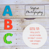 Styled Stock Photo: Phonics BUNDLE 2 (Comm Use OK)
