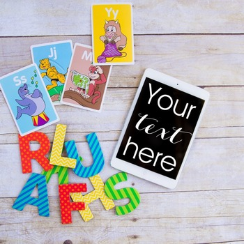 Styled Stock Photo: Phonics BUNDLE 3 (Comm Use OK)