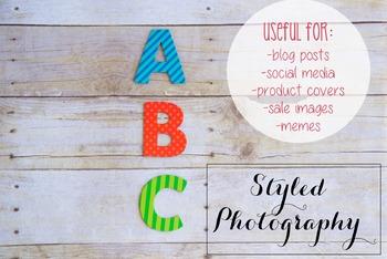 Styled Photography: Phonics set 13 (Comm Use OK)