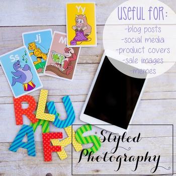Styled Photography: Phonics set 19 (Comm Use OK)