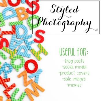 Styled Stock Photo: Phonics set 2 (Comm Use OK)