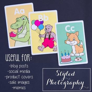 Styled Photography: Phonics set 3 (Comm Use OK)