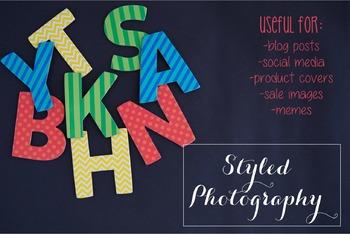 Styled Stock Photo: Phonics set 8 (Comm Use OK)