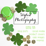 Styled Stock Photo: St. Patrick's Day (Comm Use OK)