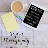 Styled Stock Photo: iPad/Computer BUNDLE (Comm Use OK)