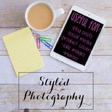 Styled Stock Photo: iPad/Computer Set 2 (Comm Use OK)