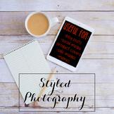 Styled Stock Photo: iPad/Computer Set 4 (Comm Use OK)
