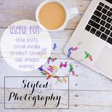 Styled Stock Photo: iPad/Computer Set 7 (Comm Use OK)