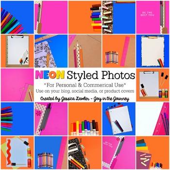 Styled Images {Neon} for Teachers and Teacherpreneurs
