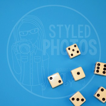 Styled Photos - Dice 1