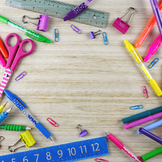 Styled Stock Photo 42 [School supplies 1]