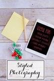 Styled Stock Photo: Math set 1 (Comm Use OK)