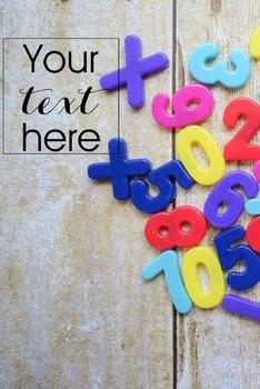 Styled Stock Photo: Math set 11 (Comm Use OK)