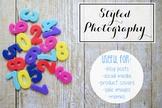 Styled Stock Photo: Math set 12 (Comm Use OK)