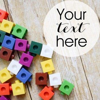 Styled Stock Photo: Math set 3 (Comm Use OK)