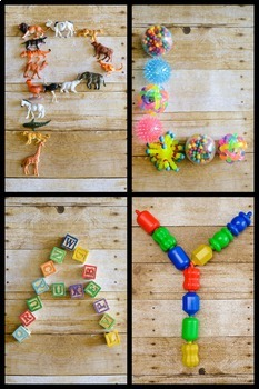 Styled Stock Photo: PLAY letters (Comm use OK)